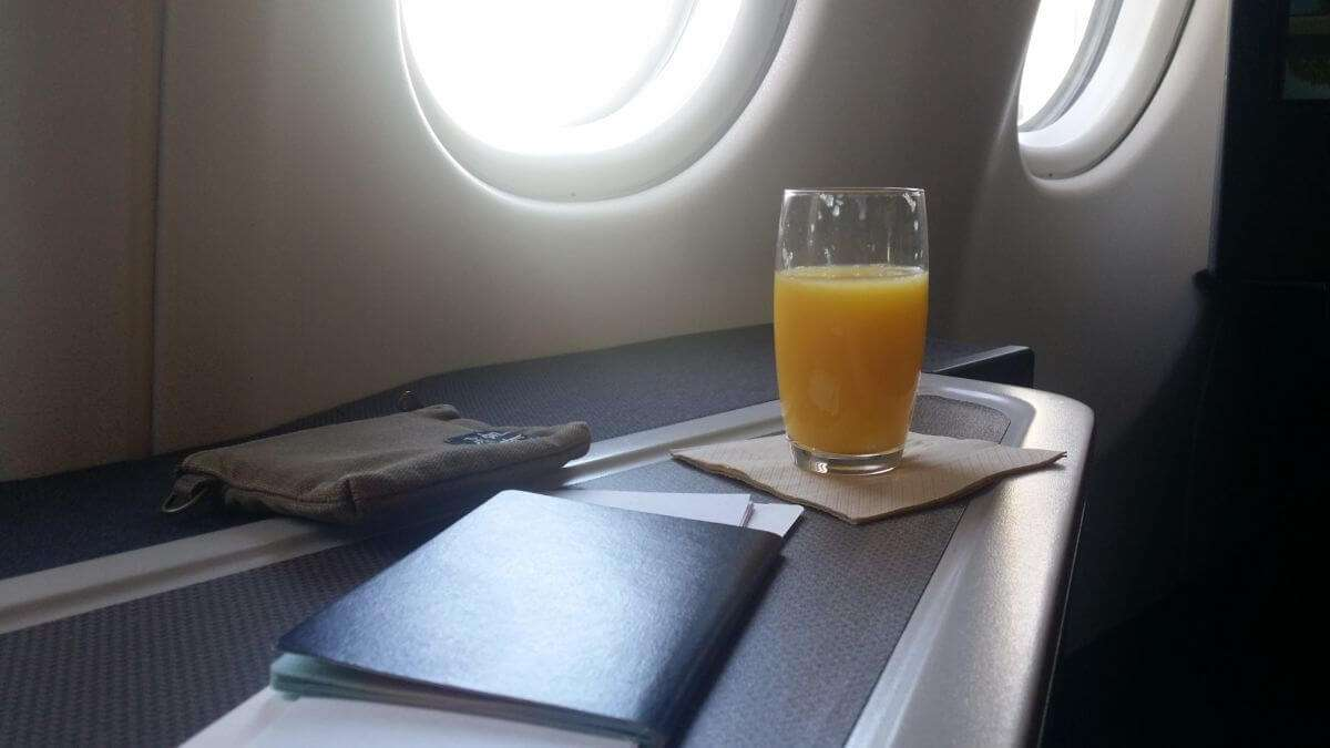 飛行紀錄: 國泰航空 A330 商務艙 | TPE HKG