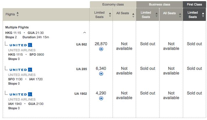 哥倫比亞航空 Avianca Lifemiles:買里數換機票