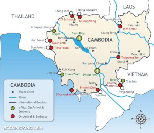 【台灣】2018 線上辦理柬埔寨觀光電子簽證(eVisa)教學