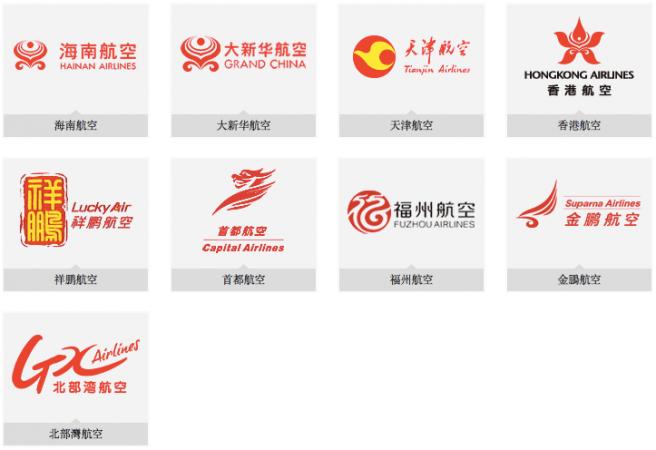 香港航空有什麼合作伙伴?能用里數換它們的機票嗎?